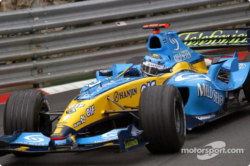 Jarno Trulli: GP Monaco 2004 in Monte Carlo