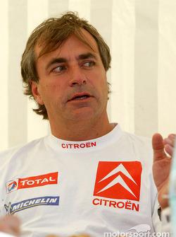 Carlos Sainz and Marc Marti