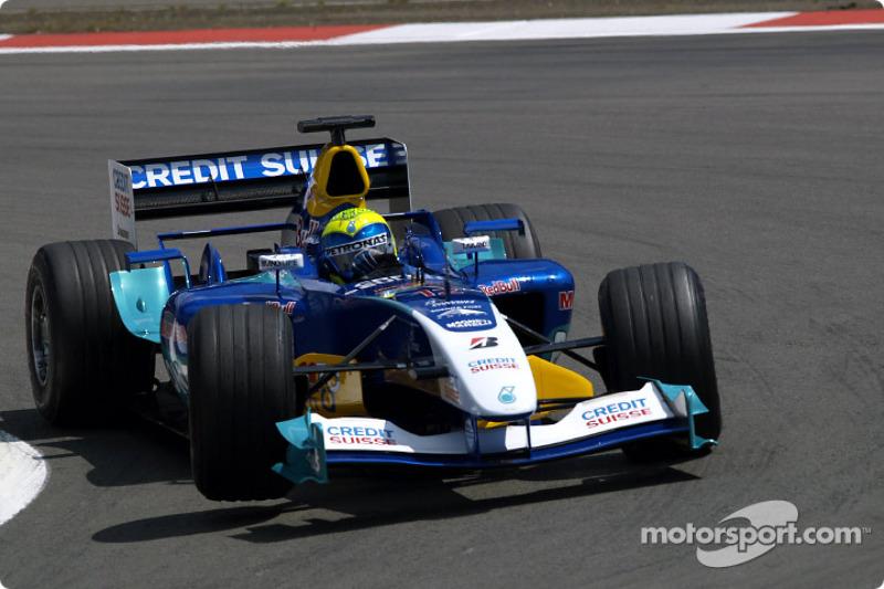 """2004: سيارة ساوبر """"سي23"""" – 12 نقطة، المركز الـ12 في البطولة"""