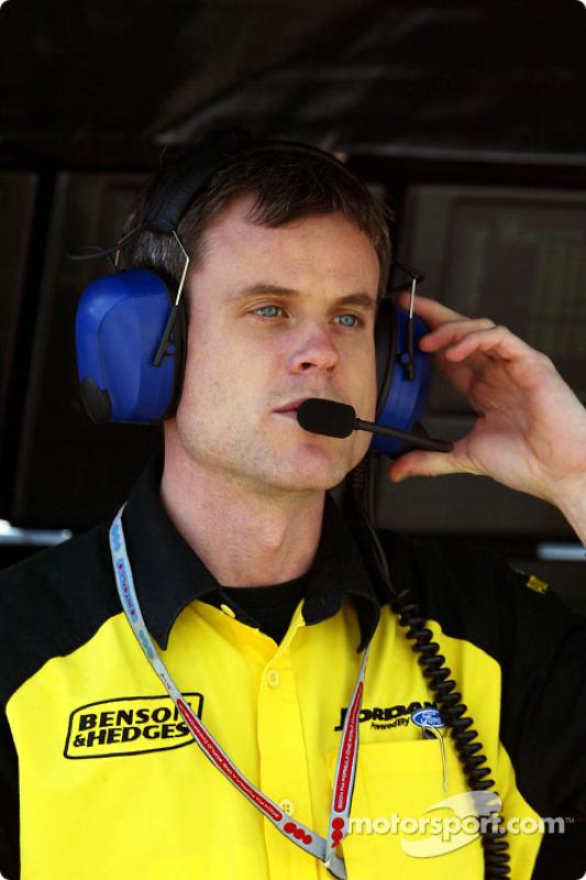 L'ingénieur de course de Jordan Dominic Harlow
