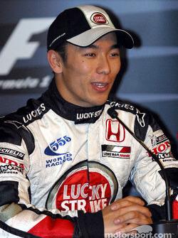 Saturday press conference: Takuma Sato