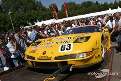 Corvette Racing arrives at scrutineering