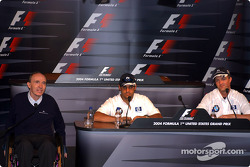 Thursday press conference: Frank Williams, Juan Pablo Montoya and Ralf Schumacher
