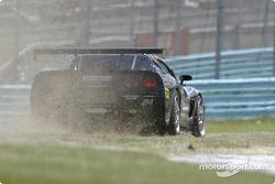 La Corvette n°24 du Specter Werks/Sports (Jeff Nowicki, Tom Bambard) sort de la piste