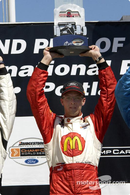 Podium : le vainqueur Sébastien Bourdais