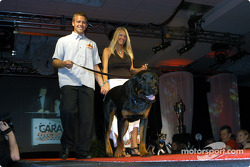 Ed Carpenter and girlfriend Heather Mosley