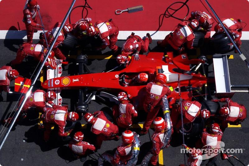 79勝目:2004年フランスGP