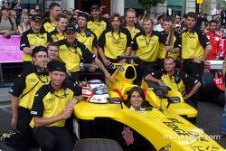 Jordan F1 team members