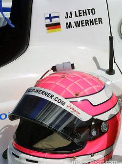 Le casque de Marco Werner