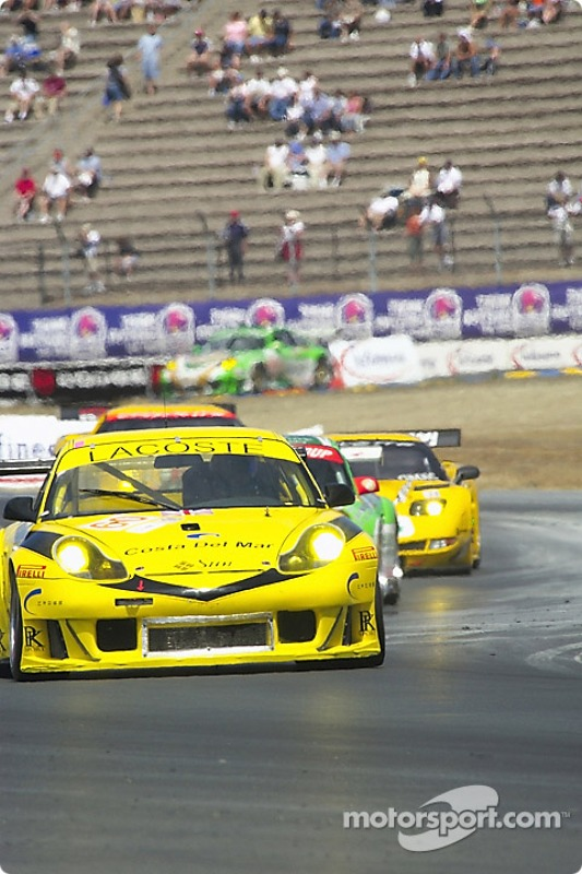 La Porsche 911 GT3 RS n°60 de P.K. Sport (Peter Boss, Hugh Plumb)