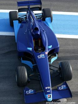 The new Dallara-Renault GP2 Series car