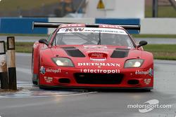 #19 JMB Ferrari 575 M Maranello: Mauro Casadei, Antoine Gosse, Andrea Garbagnati