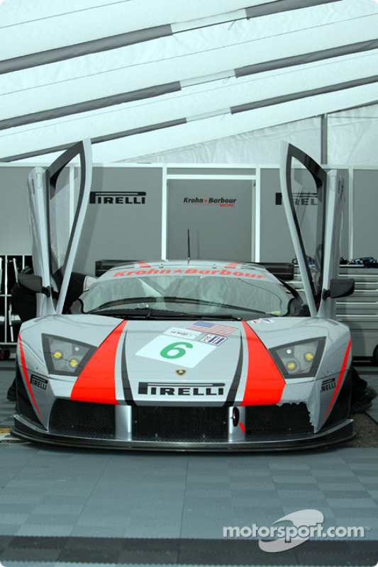 La Lamborghini Murcielago R-GT n°6 du Krohn Barbour Racing