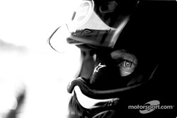 BAR-Honda team member waits for pitstop