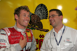 Tom Kristensen and technical director Albert Deuring