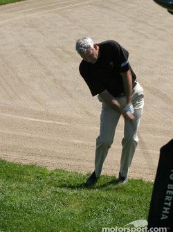 Brickyard 400 driver golf outing: Dale Jarrett