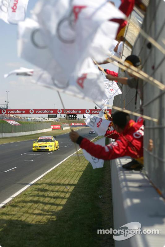 1. Tom Kristensen, Team Abt Sportsline, Audi A4 DTM 2004