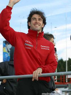 Drivers parade: Ricardo Zonta