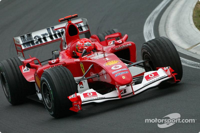 2004: Ferrari F2004 (15 побед, титул в КК)