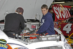 Working in the engine bay