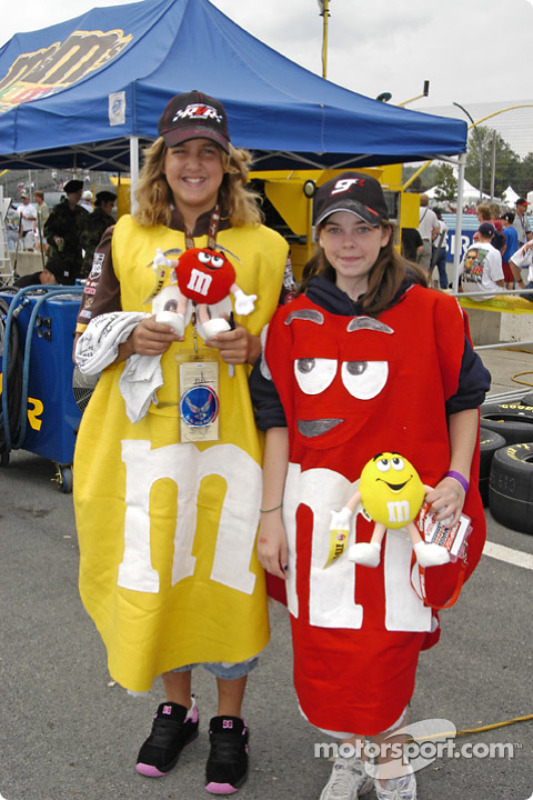 Les M&M's Girls
