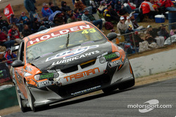 Fabian Coulthard also sporting damage