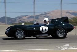 #17 1955 Jaguar D-Type, Nick Faure
