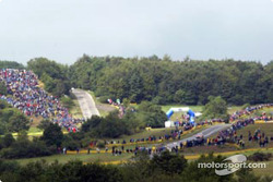 Fans at the Baumholder stages