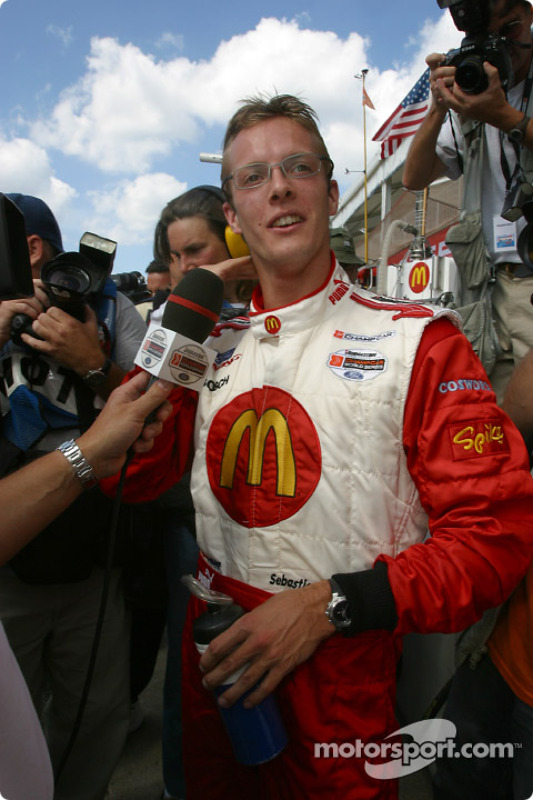 Interviews pour le poleman Sébastien Bourdais