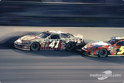 Casey Mears gets passes by Terry Labonte