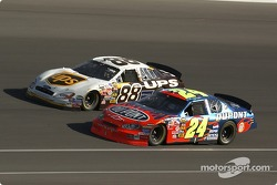 Dale Jarrett and Jeff Gordon
