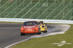 Exiting turn one