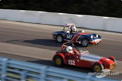 132 Lotus 7 and 147 AH Sprite Mk I