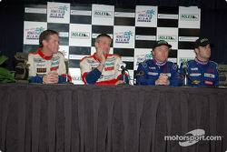 Press conference: Randy Pobst, Michael Levitas, Gene Sigal and Harrison Brix