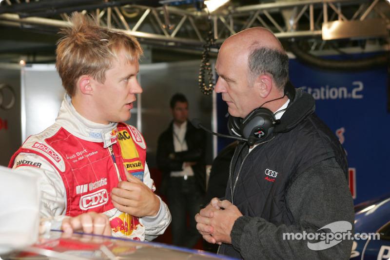 Mattias Ekström and Dr Wolfgang Ullrich