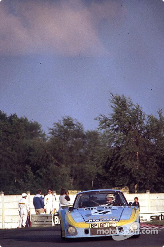 La Porsche 935 K3 n°73 JLP Racing : John Paul, Guy Edwards, John Paul Jr.