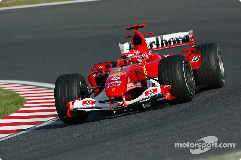 2004 - Suzuka: Michael Schumacher, Ferrari F2004