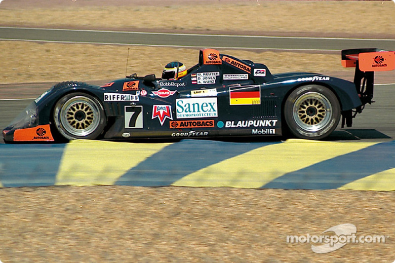 1996: Manuel Reuter, Davy Jones, Alexander Wurz, TWR-Porsche WSC-95