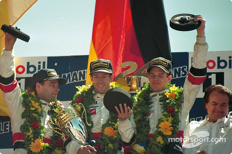 1996: Manuel Reuter, Davy Jones, Alexander Wurz