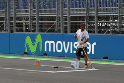 Painting the grid positions