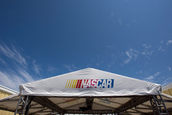 The NASCAR Sprint Cup technical inspection area