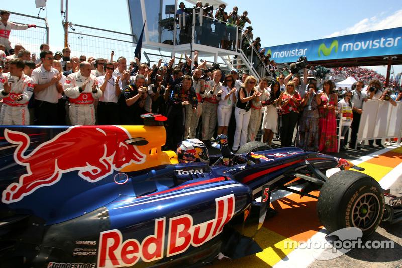 2010. Валенсія. Переможець: Себастьян Феттель, Red Bull - Renault