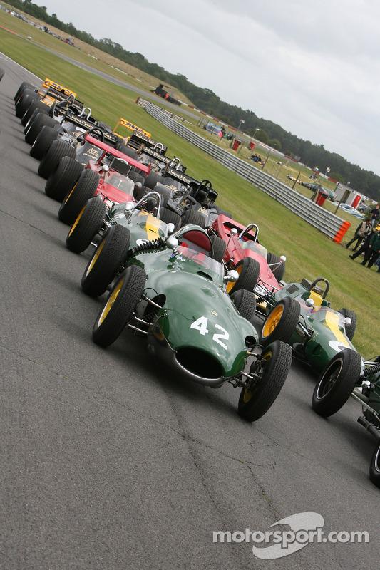 Lotus F1 gridformatie