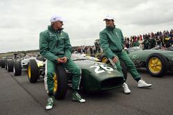 Heikki Kovalainen, Jarno Trulli
