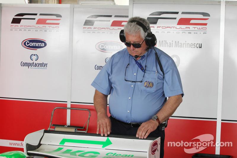 Carlos Funes FIA Technical Delegate