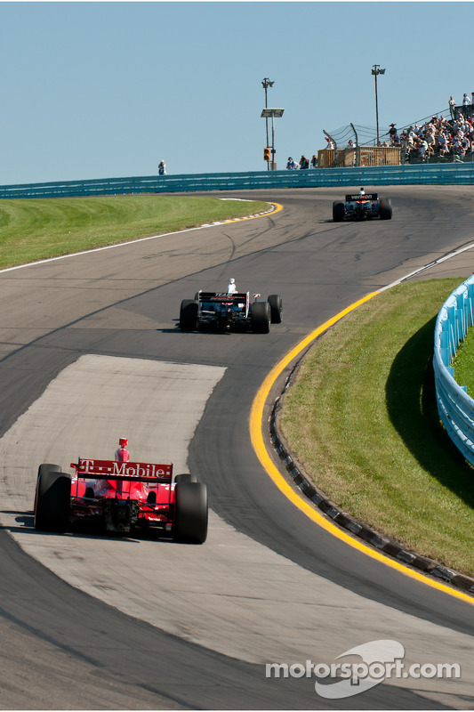 Ryan Briscoe, Team Penske, Dario Franchitti, Target Chip Ganassi Racing, Will Power, Team Penske