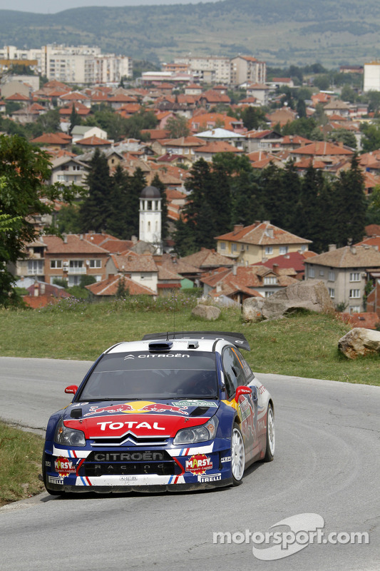 Sébastien Ogier en Julien Ingrassia, Citroën C4 WRC, Citroën Junior Team