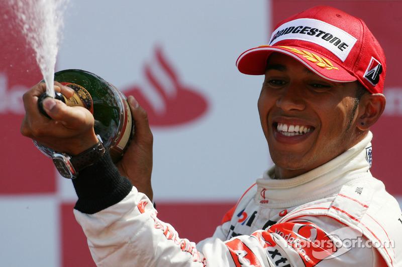 2010 - Lewis Hamilton, McLaren Mercedes