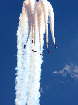 Red arrows show