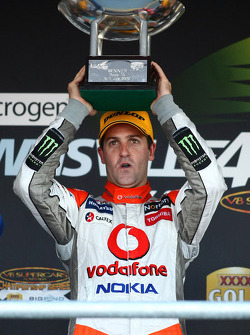 Jamie Whincup takes out race one of the Townsville 400 for TeamVodafone